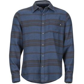 Marmot M's Fairfax Midweight Flannel LS Shirt Dark Indigo